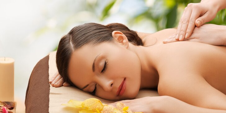 Klasická masáž a rašelinový zábal na krčnú chrbticu