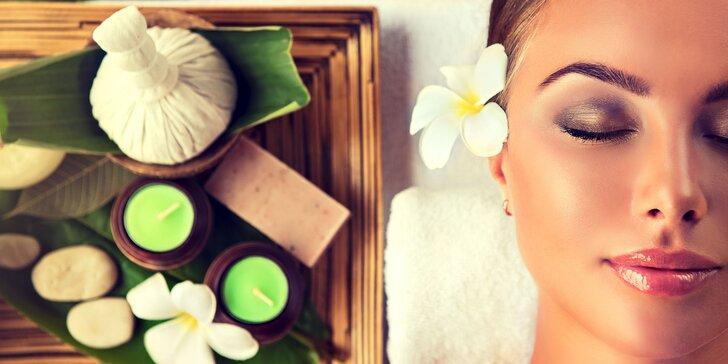 Ajurvédska kozmetická masáž či ošetrenie proti starnutiu