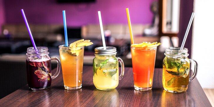 Nealko ovocné drinky alebo pivné limonády v GARIBALDI'S