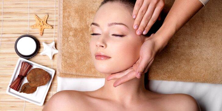Olejové masáže tváre, krku a dekoltu alebo Rádiofrekvencia tváre