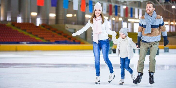 Kurzy korčuľovania na ľade pre deti a dospelých
