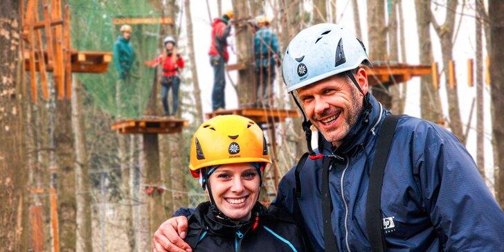 Vstup na atrakcie Lanového parku Preles Žilina