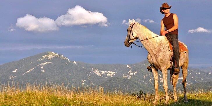 Doprajte si relax v nádhernej prírode na Ranchi Amadeus s jazdou na koni