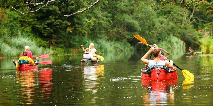 Dobrodružný splav Malého Dunaja - 1, 2 alebo 3 dni