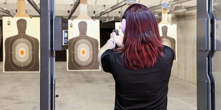 Netradičný zážitok! Streľba zo zbrane v strelnici T&T.