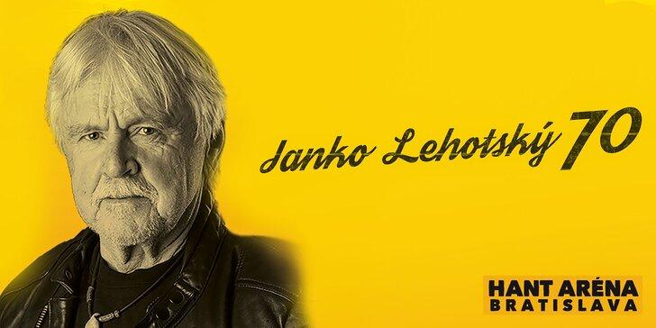 Megakoncert Janko Lehotský 70 a mnoho ďalších
