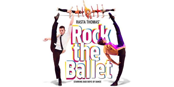 Vstupenka na tanečné predstavenie Rock the Ballet