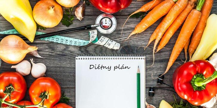 Diétny plán so vzorovými receptami od osobného trénera