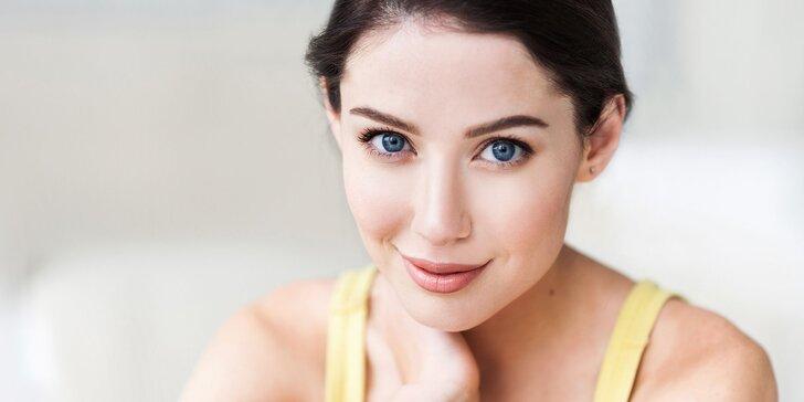 Hĺbkové čistenie pleti alebo omladzujúca liftingová masáž