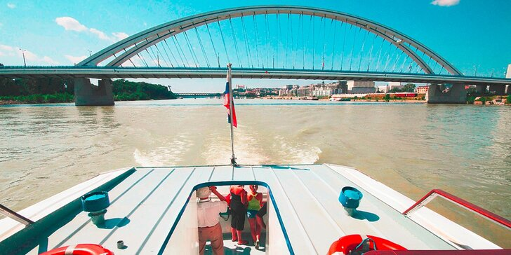 Zážitková plavba vyhliadkovou loďou pre dospelých aj deti!