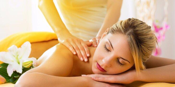 Klasická relaxačná masáž s možnosťou bankovania