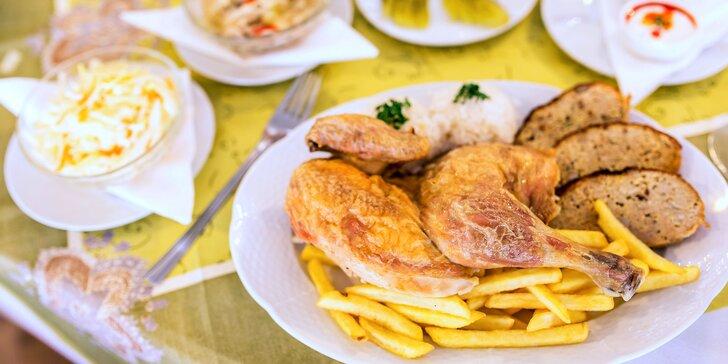 Ochutnajte pečené kurča priamo zo slovenskej farmy