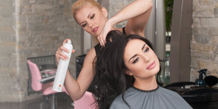 Regeneračná kúra na vlasy so strihom alebo ombré, sombré či melír so strihom