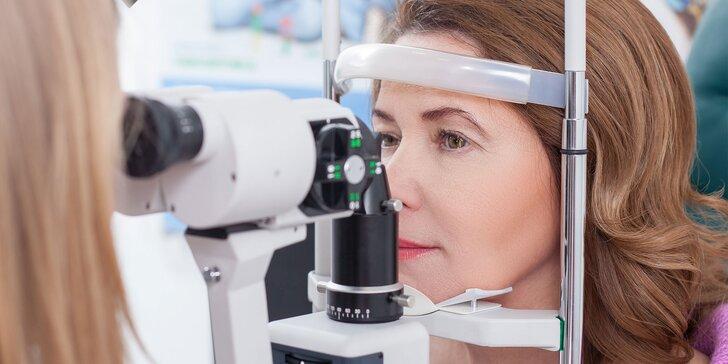 Vyšetrenie ostrosti zraku s výrobou okuliarov v Bory Mall