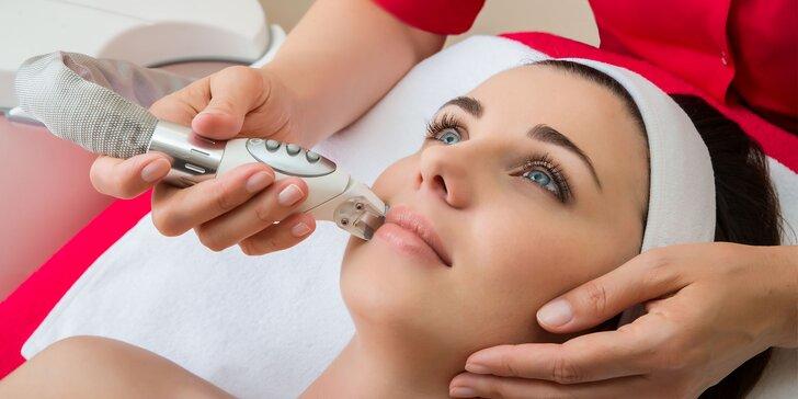 Liftingová LPG masáž tváre s inhaláciou kyslíka