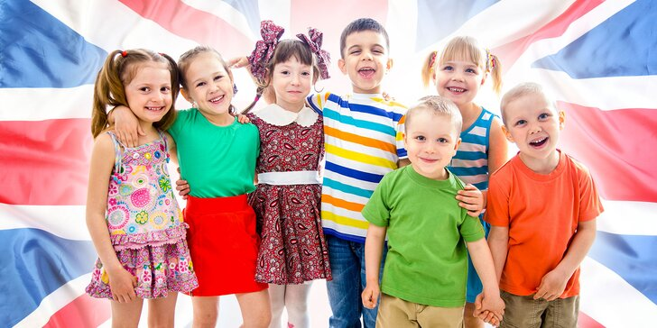 Anglický klub pre deti plný zábavy!