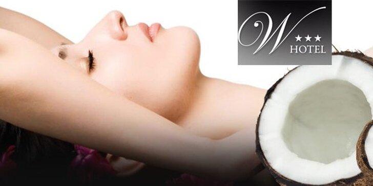 6 eur za exotickú kokosovú masáž! Zahaľte sa do vône ďalekých krajín, ktorá podnieti vaše zmysly a osvieži ducha, teraz so zľavou 60%!