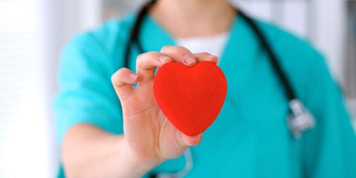 Prevencia srdcového infarktu a mozgovej príhody včasnou diagnostikou