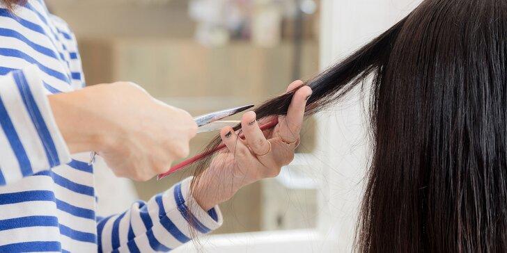 Dámsky strih, melír i regenerácia vlasov botoxom