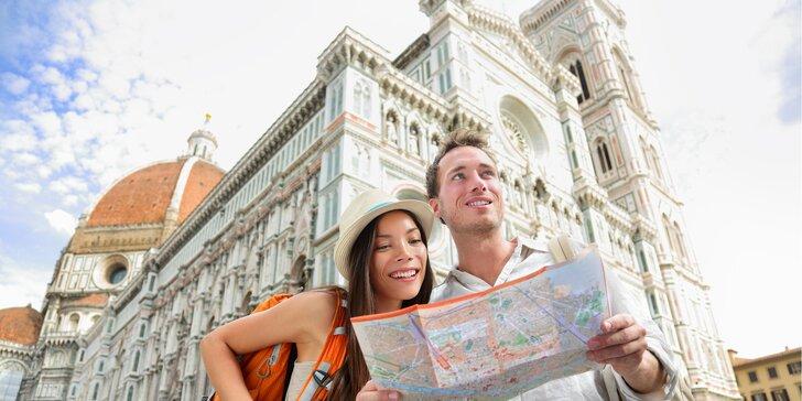 Krásy Toskánska - Florencia, Pisa, Elba a plávanie v mori