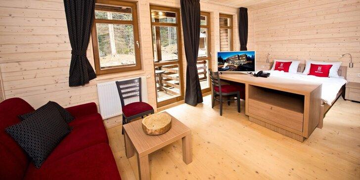 Relaxačný pobyt pod Chopkom v Nízkych Tatrách v legendárnom hoteli Chata Björnson***