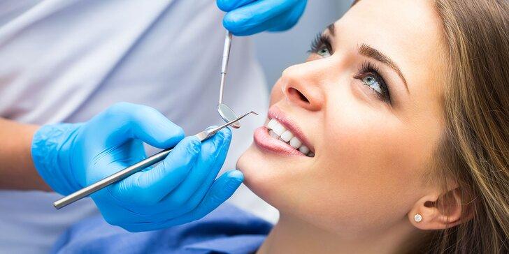 Dentálna hygiena vhodná aj pre deti + možnosť bielenia