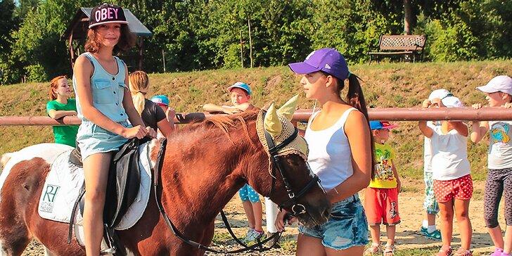 Denný tábor Pri Mlyne plný športu a zvieratiek!