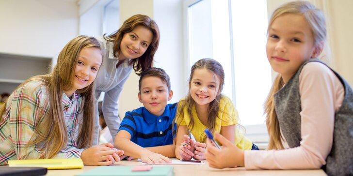 Kurzy angličtiny a nemčiny pre deti od 3 rokov