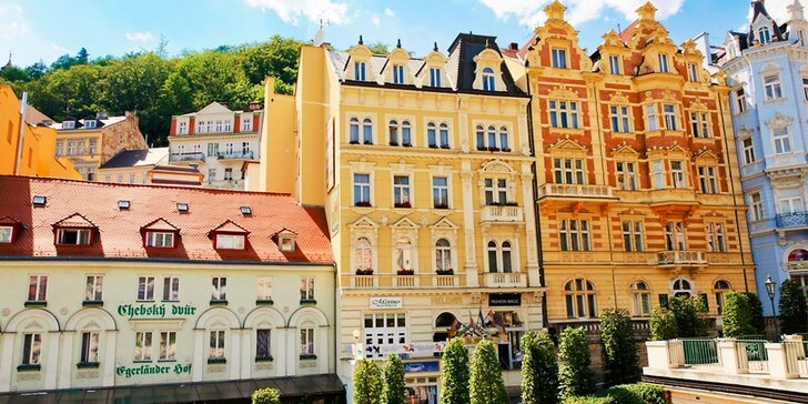 Letný či jesenný relaxačný pobyt s procedúrami a vstupom do kúpeľov Karlových Varoch