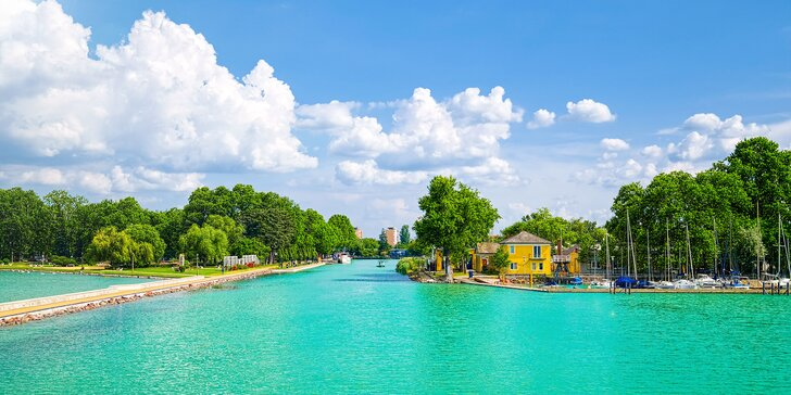 Relax a slnko! Pohodová dovolenka s wellness pri Balatone