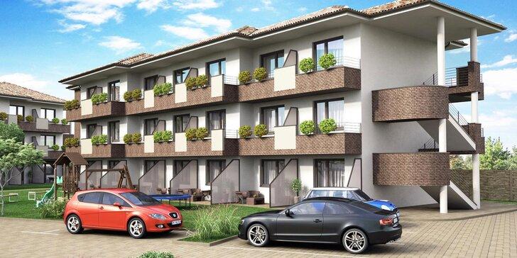 Letná dovolenka v nových apartmánoch v Dunajskej Strede s priamym vstupom do Thermalparku