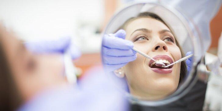 Vstupná zubná prehliadka či dentálna hygiena