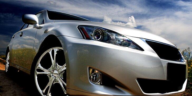 Umytie, voskovanie a leštenie auta nanotechnológiou