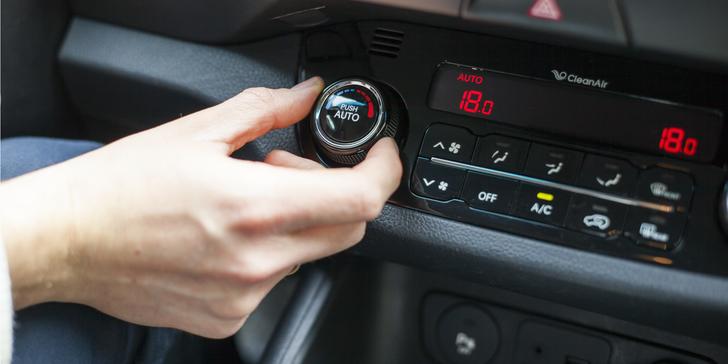 Dezinfekcia interiéru auta ozónom so servisom klímy