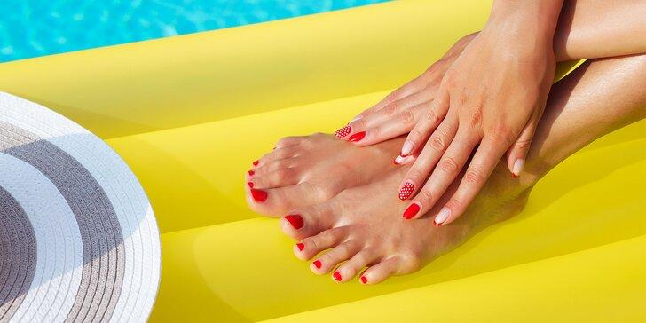 Gél lak na ruky alebo nohy, japonská manikúra alebo gélové nechty