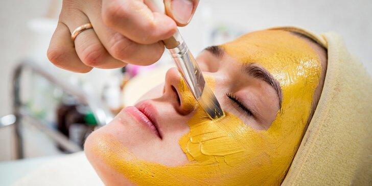 Omladenie pleti s exkluzívnou kozmetikou z čistého zlata