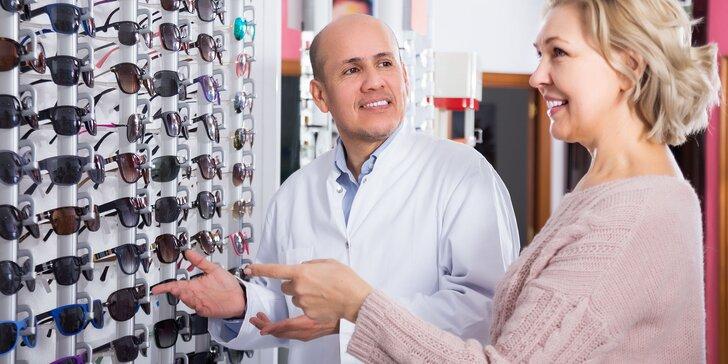 Vyšetrenie zrakovej ostrosti a zľava na nové okuliare - aj slnečné!