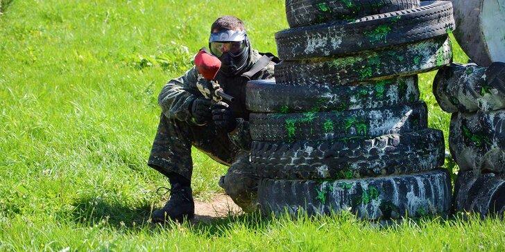 Paintball v Nitre: v cene kompletná výbava a až 1000 guľôčok