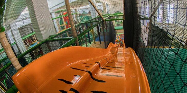 Zabavte sa s deťmi v indoorovom ihrisku!
