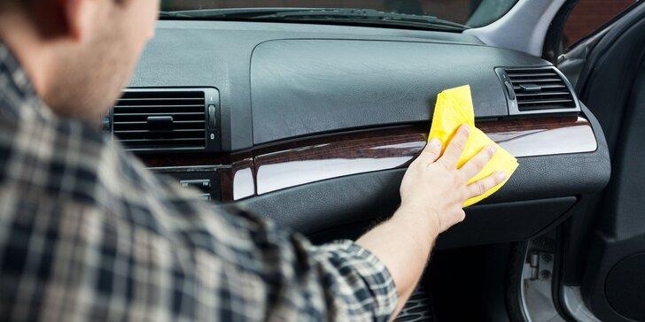 Kompletné vyčistenie interiéru a exteriéru auta s tepovaním