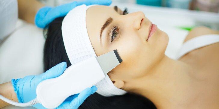 Hĺbkové čistenie pleti alebo ošetrenie s relaxačnou aroma masážou