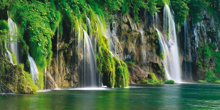 Chorvátsko trochu inak. Dovolenka pri Plitvických jazerách!