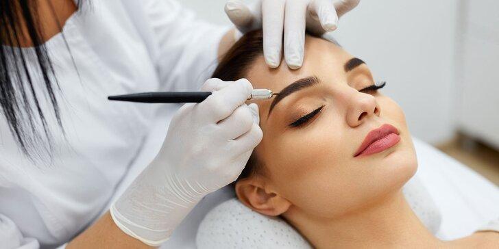 Permanentný make-up s microbladingom