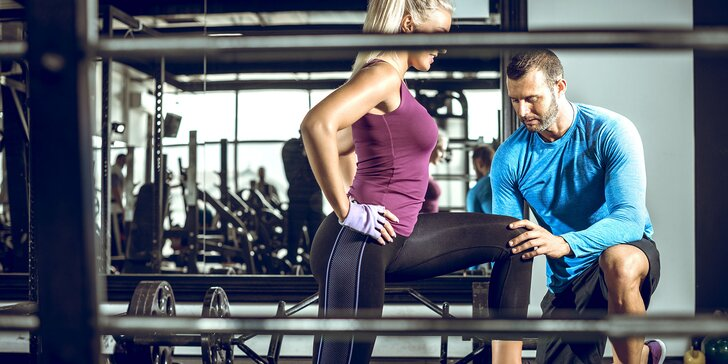 Individuálny tréning s osobným trénerom a vstupom do fitka