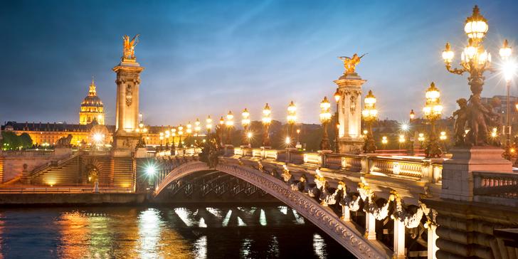 Čistá romantika pre dvoch: 2-3 noci v hoteli Paris Neuilly **** v centre Paríža