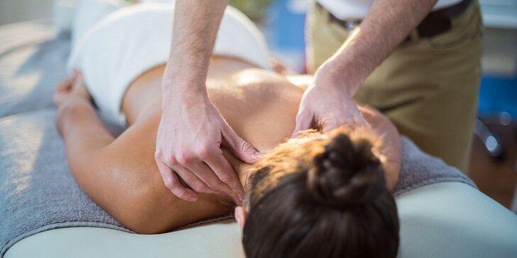 Manuálna lymfodrenáž alebo špeciálna ozdravná masáž chrbta