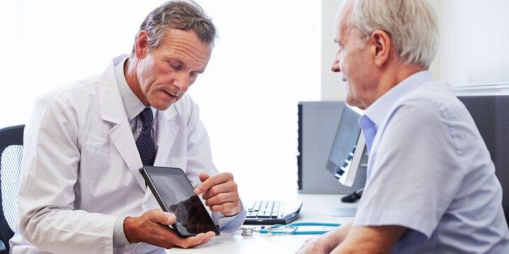 Vyšetrenie u renomovaného proktológa v zdravotníckom zariadení DoktorPro