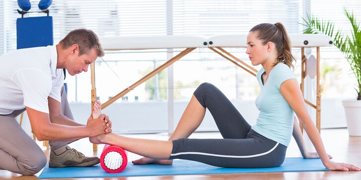 Vychutnajte si masáže či cvičenia s fyzioterapeutom