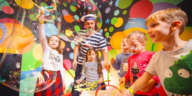 Nezabudnuteľná detská oslava s bublinovou show