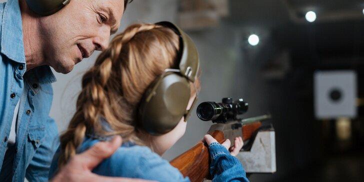 Streľba na terč - aj laserovou zbraňou na plechovkomat